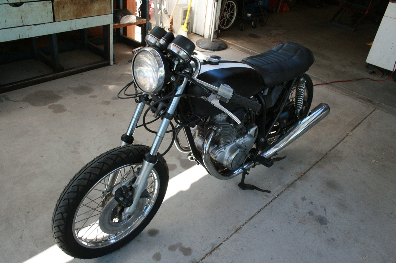 The CB360 Project is underway. | H.O.F.I custom cafe' racers ...