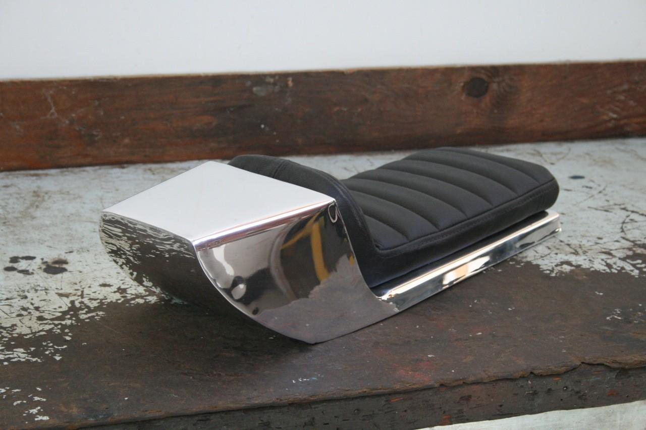 tz500 aluminum cafe racer seat upholstered23 | h.o.f.i custom cafe