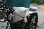 Aluminum Cafe Racer