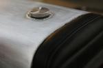 CB750 Cafe Racer Seat Aluminum Oil Tank cap 2