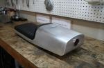CB750 Cafe Racer Seat Aluminum Oil Tank bump