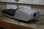 CB750 Cafe Racer Seat Aluminum Oil Tank rear