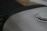 CB750 Cafe Racer Seat Aluminum Oil Tank er