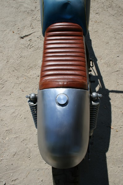 Oil tank seat Steel CB750 Cafe Racer  Custom SOHC