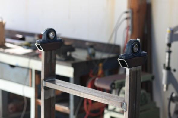 Helve Hammer Build metal forming pillow blocks for hammer