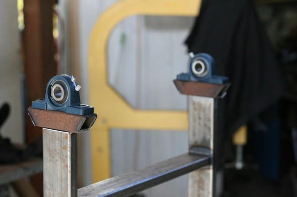 Helve Hammer Build metal forming fabrication plans