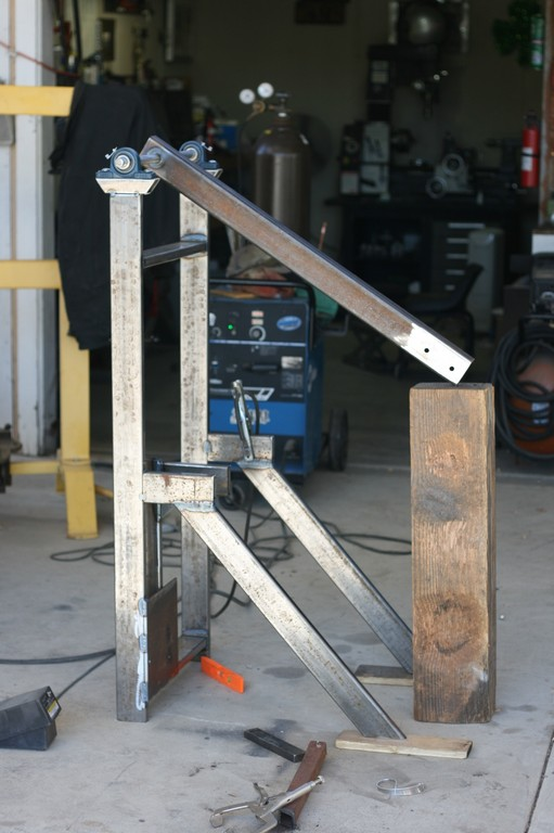 Helve Hammer Build metal forming setup build welding kit sculpture