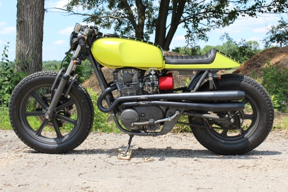 Cusotm Cafe Racers XS650 Custom Seat