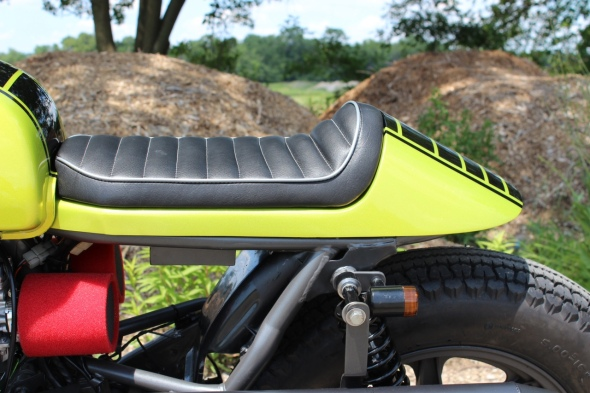 Twinline cafe Racer seat