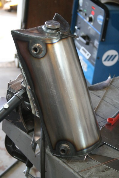 Oil tank fender Cb750 cafe racer brat style DOHC